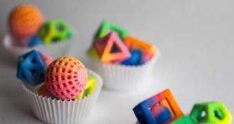 Agora vai: impressão 3D de doces