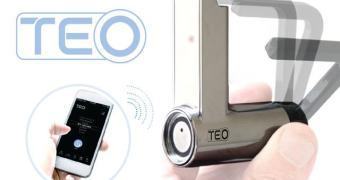 Outra idéia JENEAL: cadeado Bluetooth