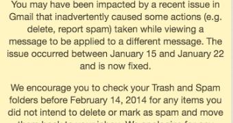 Ops! Usuários mandam excluir uma mensagem, mas Gmail acaba excluindo outra