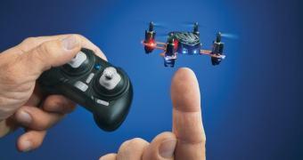 Um droninho que vale por um bifinho