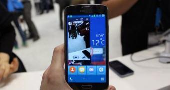 MWC 2014: Samsung exibe protótipo de smartphone rodando Tizen