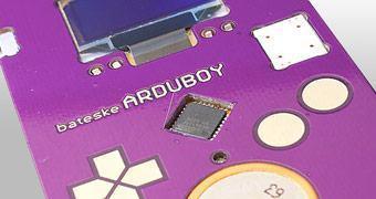 Arduboy, um cartão de visita no qual você pode jogar Tetris