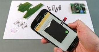 Que tal usar um smartphone para coletar seus exames de sangue?