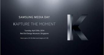 Samsung envia convites para lançamento do suposto Galaxy K Zoom
