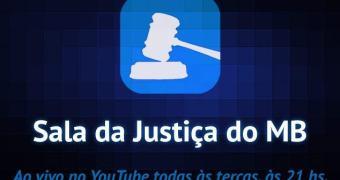 Acompanhe hoje a gravação ao vivo do nosso programa Sala da Justiça #14!