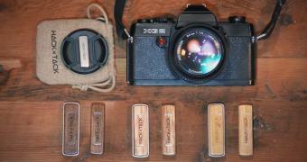 Ideia idiota do dia (ou não) para nunca mais perder a tampa da lente