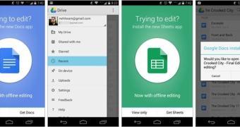 Google Drive vai perder opção nativa de editar arquivos via mobile