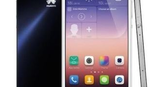 Huawei apresenta o Ascend P7, seu novo top de linha
