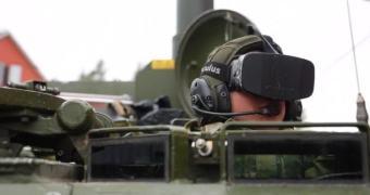 Exército norueguês está testando o Oculus Rift em tanques