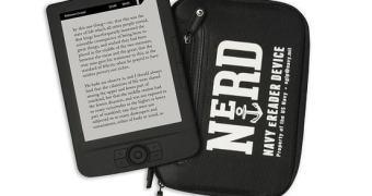 Marinha dos EUA anuncia um leitor de ebooks que funciona debaixo d'água