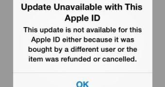Apple corta atualizações de apps que foram reembolsados