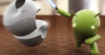 iOS cai, Android cresce e Samsung já está nos calcanhares da Apple no mercado de smartphones