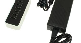 Agora sim: carregador USB MegaPower de 6 Portas