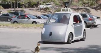 Segundo Conan O'Brien o carro do Google ainda tem alguns bugs