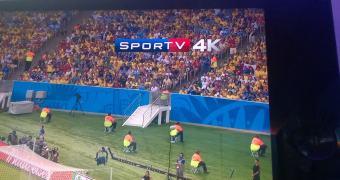 A Copa em 4K, cortesia da Oi TV