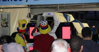 Qylatron: máquina que substituiria a revista de bagagens em aeroportos foi testada durante a Copa do Mundo