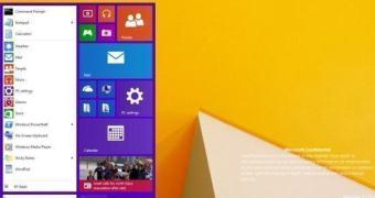 Novo Menu Iniciar aparece em build vazada do Windows 9