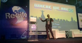 Daniel Matros da DICE mostra na Campus Party Recife como os games podem ensinar muita coisa