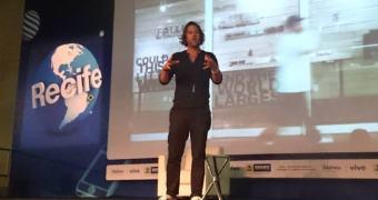 Campus Party Recife: Sean Carasso acredita que as redes sociais podem mudar o mundo