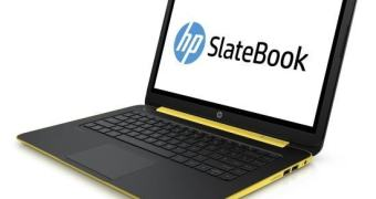 HP começa a vender o SlateBook14, seu notebook Android com tela touch