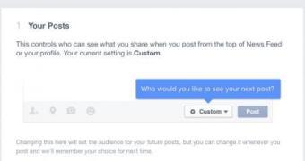 Facebook apresenta checagem de privacidade aos usuários
