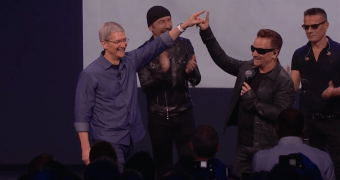 Novo álbum do U2 aparecendo no seu iTunes sem ser convidado