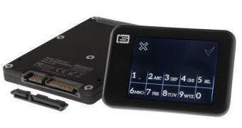 Um HDD SSD que se auto-destrói se você mandar um SMS