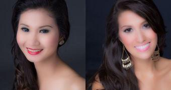 Retratos Miss Filipinas – ou até onde o retoque digital pode ir