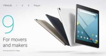Google Nexus 9, tablet com Android 5 Lolita agora é oficial