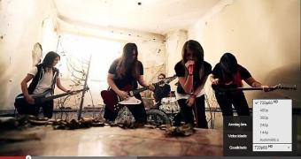 Banda lança primeiro clipe do Brasil em 60 fps no YouTube