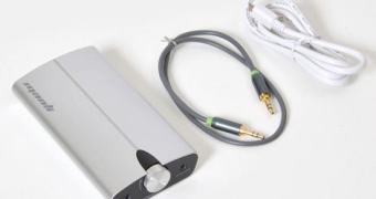 Quem quer uma bateria externa com amplificador de fones de ouvido?