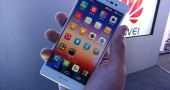 Huawei lança Ascend P7 no Brasil