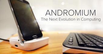 Andromium, o deck que transforma seu Android num desktop