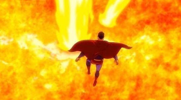 all star superman 2011 film superman overpowered by the sun lex luthor trick