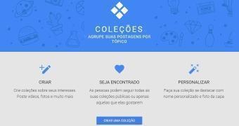 Google+ apresenta Coleções, sua versão do Pinterest