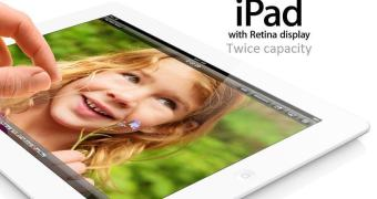 Apple anuncia iPad 4 com 128 GB