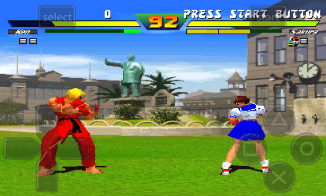 Street Fighter EX Plus Alpha.