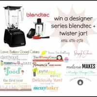 Designer Series Blendtec and Twister Jar Giveaway