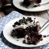 Cookies 'n Cream Poke Cake