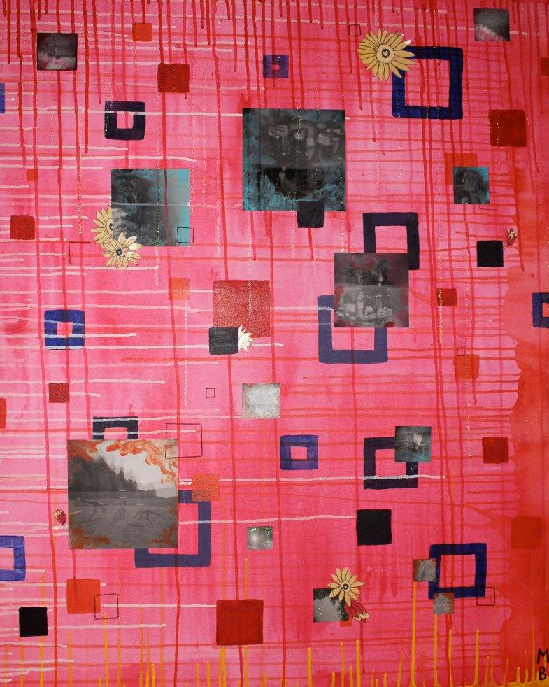 Mel Barrett Art Puzzle Pieces
