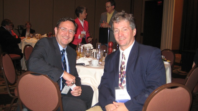 Dr. Eric Shaw (US Naval War College) and Bill Frederick (School for Field Studies)