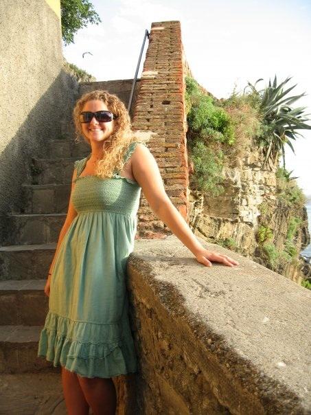 Guest blogger, Nicole Zeoli, in Italy