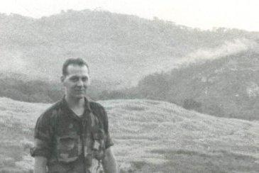 Rick Zimmerman serving in Panama