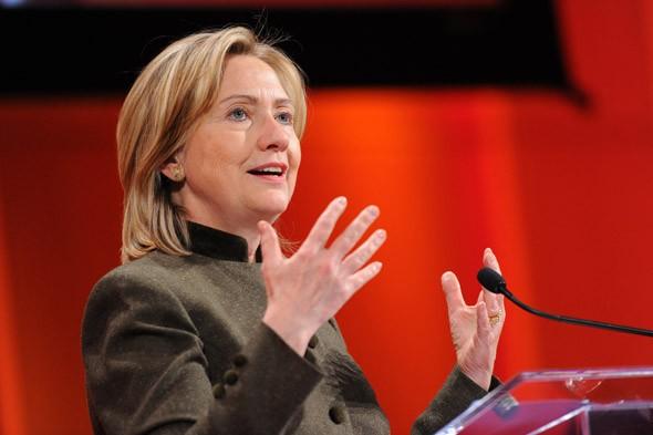 Hillary Rodham Clinton, US Secretary of State