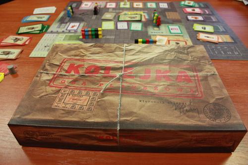 Kolejka Board Game