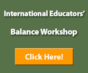 Ad Banner International Education Balance Workshop