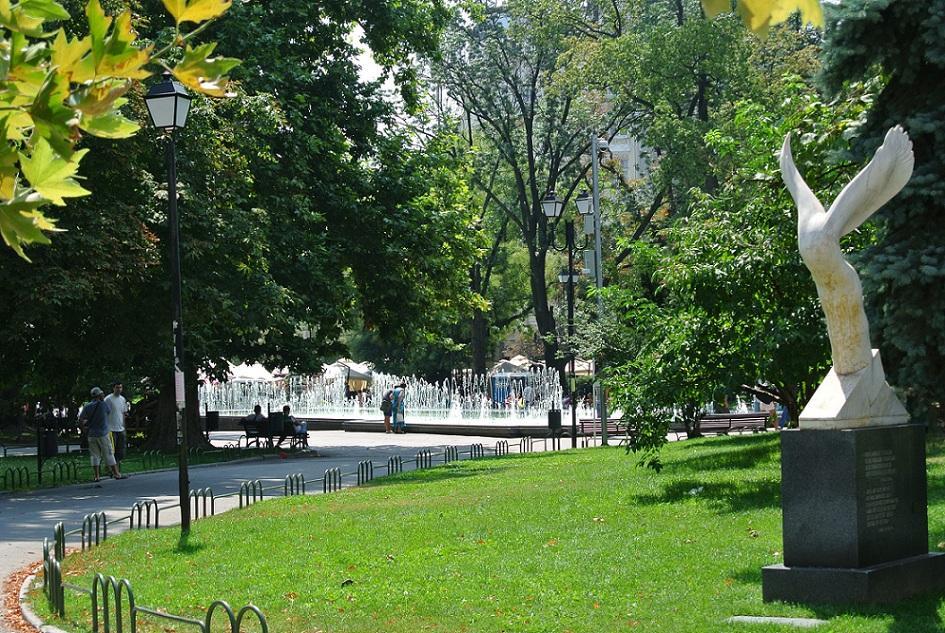 """The city's """"Garden Park"""" (Photo courtesy of Gerry Botchoukova-Farkova)"""