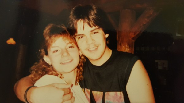 """Missy and her """"brother"""" Rodrigo (from Mexico), 1985. Missy and her """"brother"""" Rodrigo (from Mexico), 1985."""