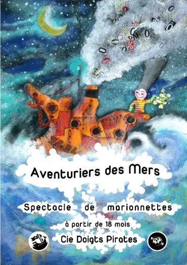 Affiche Les Aventuriers des mers_Cie Doigts Pirates