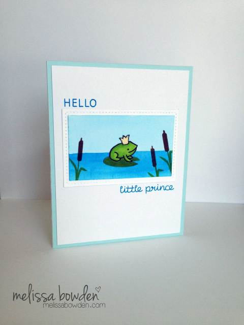 Little Prince Card- Melissa Bowden